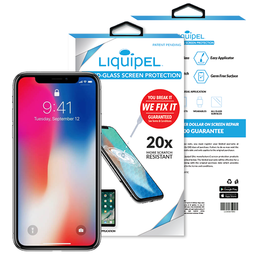Liquid Glass Invisible Screen Protection | Liquipel com