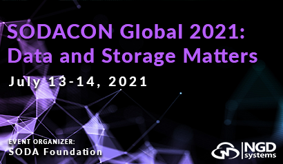 SODACon Global 2021: Data and Storage Matters